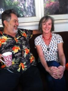 Ross Bolleter and Mari Rhydwen